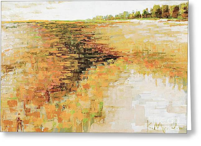Horizen Greeting Cards - Glades Alley Greeting Card by Kaata  Mrachek
