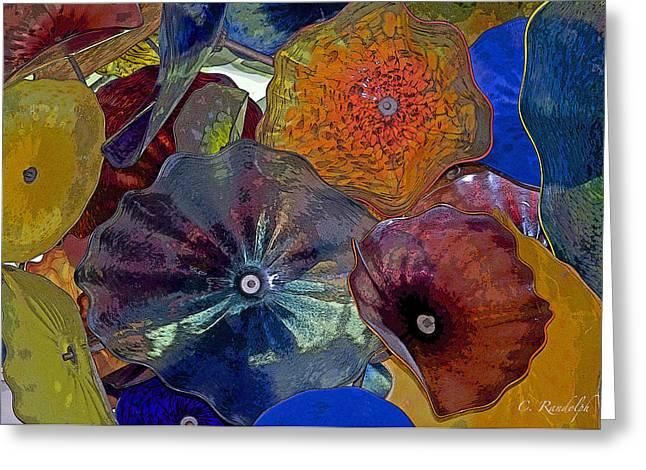 Cheri Randolph Greeting Cards - Glass Ceiling Greeting Card by Cheri Randolph