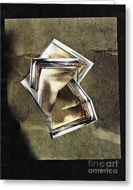 Glass Sculpture Greeting Card by Sarah Loft