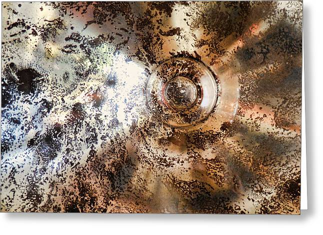 Glass Vase Greeting Cards - Glass Series 4 - Chaos Greeting Card by Nora Martinez