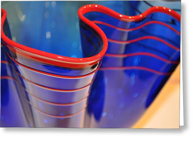 Glassworks 1 Greeting Card by Marty Koch