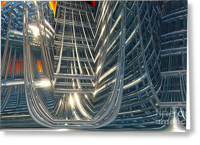 Rack Greeting Cards - Gleaming Greeting Card by Ron Bissett
