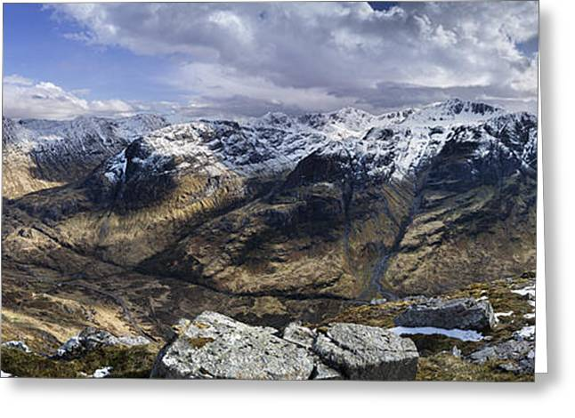 Etive Mor Greeting Cards - Glen Coe - Scotland Greeting Card by Rod McLean
