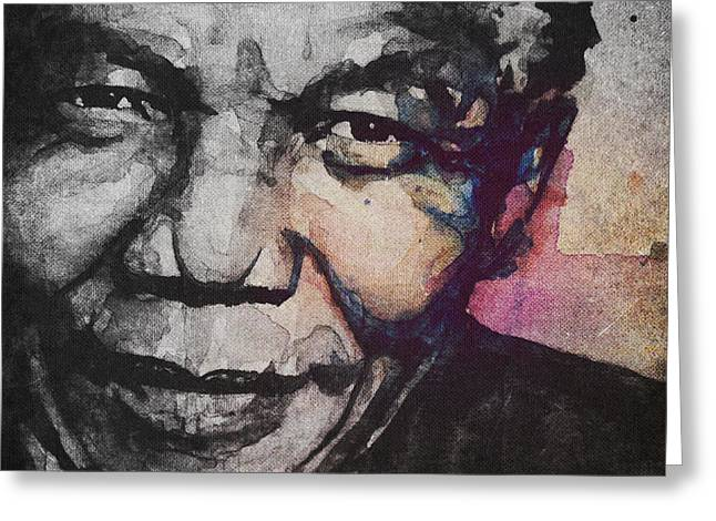 Glimmer Of Hope Greeting Card by Paul Lovering