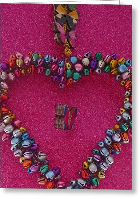 Hanging Mobile Greeting Cards - Glitter and sparkles a girls best friend Greeting Card by Amanda Elizabeth Sullivan