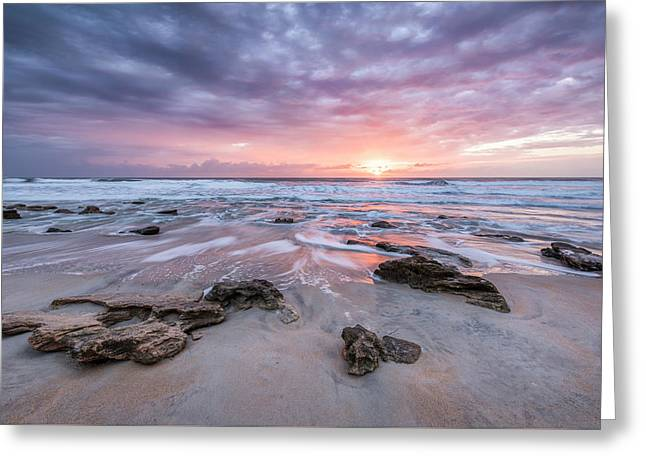 Glorious In St. Augustine Greeting Card by Jon Glaser