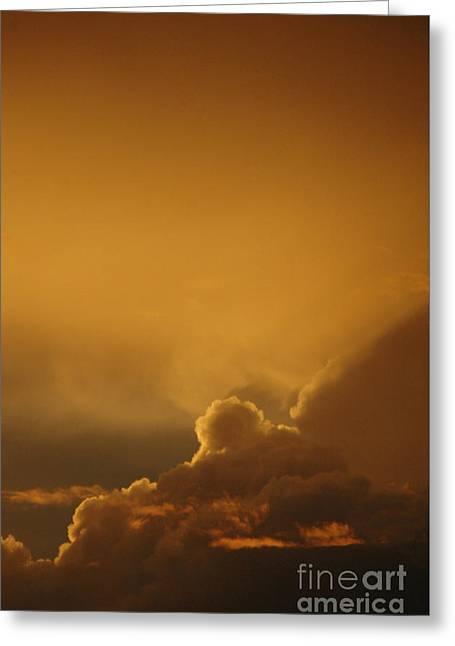 Ciel Greeting Cards - Glorious Sunset Greeting Card by ArtyZen Studios - ArtyZen Home