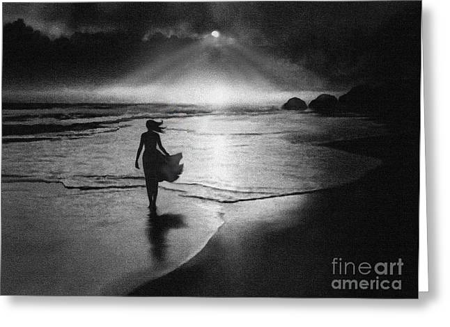 Glory View Greeting Card by Robert Foster