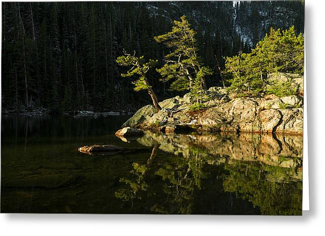 Rocky Mountain National Park Greeting Cards - Glow Greeting Card by Chad Dutson
