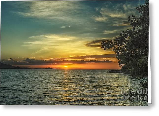 Michelle Greeting Cards - Glowing Sky Greeting Card by Michelle Meenawong