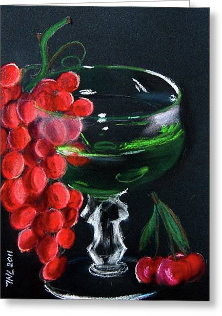 Goblet Pastels Greeting Cards - Goblet Greeting Card by Natalia Tyorlo