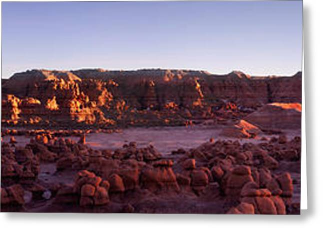 Southern Utah Greeting Cards - Goblin Valley Greeting Card by David Andersen