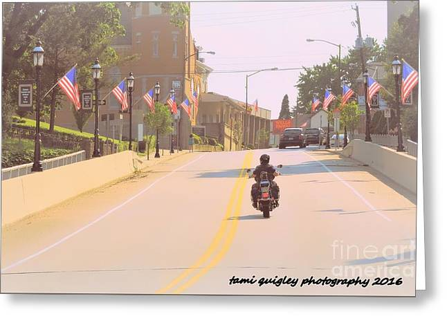 God Bless America Greeting Card by Tami Quigley