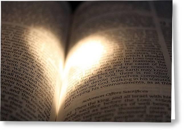 Bible Greeting Cards - Gods Love Greeting Card by Elizabeth Rockafellow
