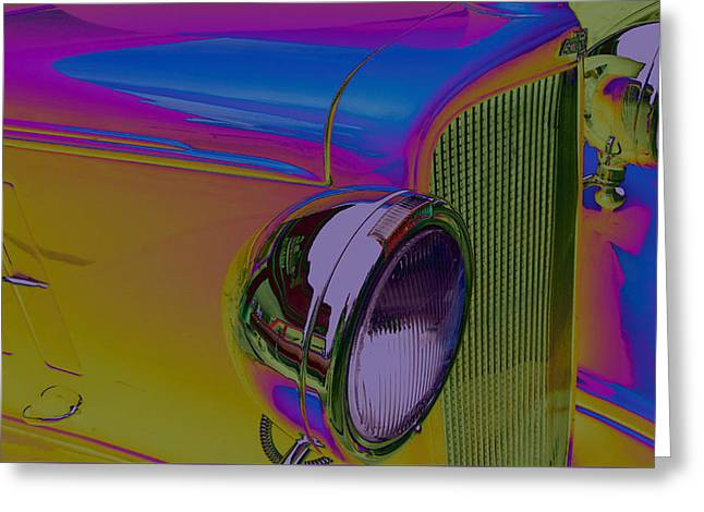 Old Digital Art Greeting Cards - Going Back To Cali Greeting Card by Bobbie Barth