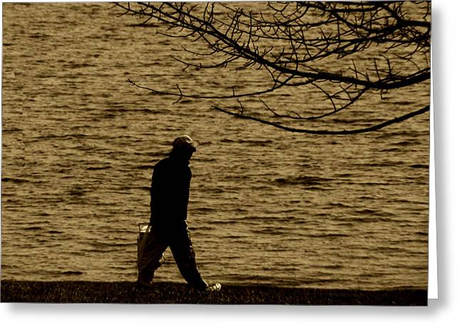 Dmc Greeting Cards - Going Fishing Greeting Card by Kevin Lormand