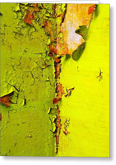 Going Green Greeting Card by Skip Hunt