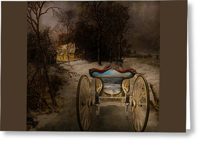 Going Home Greeting Card by Jeff Burgess