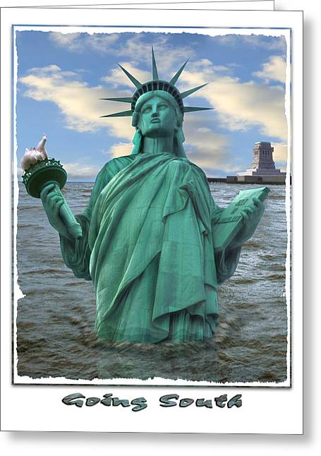 Tablets Greeting Cards - Going South Greeting Card by Mike McGlothlen