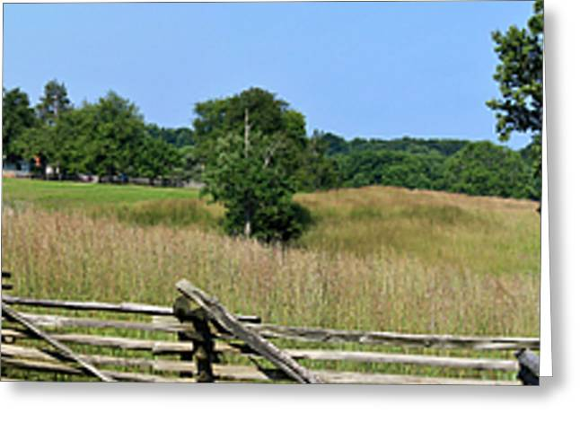 Going to Appomattox Court House Greeting Card by Teresa Mucha