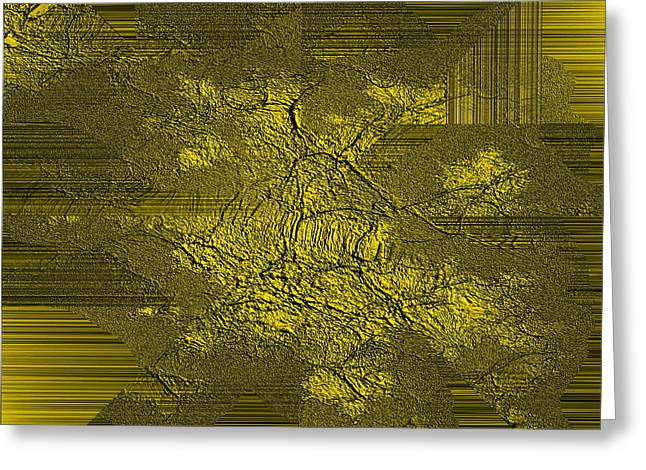 Gold Ambiance Greeting Card by Robert G Kernodle