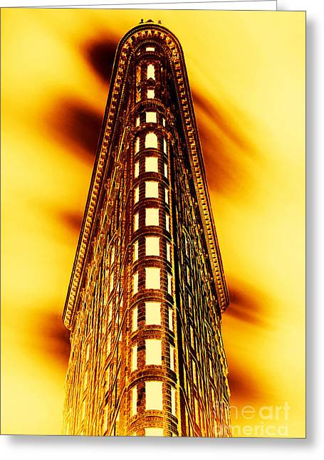 Historical Buildings Greeting Cards - Gold Bullion Greeting Card by Az Jackson