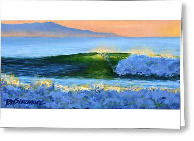 Recently Sold -  - Ventura California Greeting Cards - Gold Coast Gem Greeting Card by Brett Sizemore