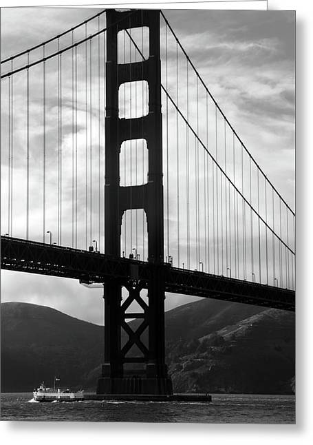 Golden Gate Bridge, San Francisco, California Greeting Card by Aidan Moran