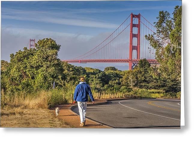 Phil Clark Photographs Greeting Cards - Golden Gate II Greeting Card by Phil Clark