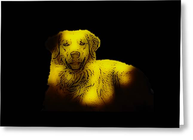 Best Friend Greeting Cards - Golden in the Shadows Greeting Card by Heather Joyce Morrill