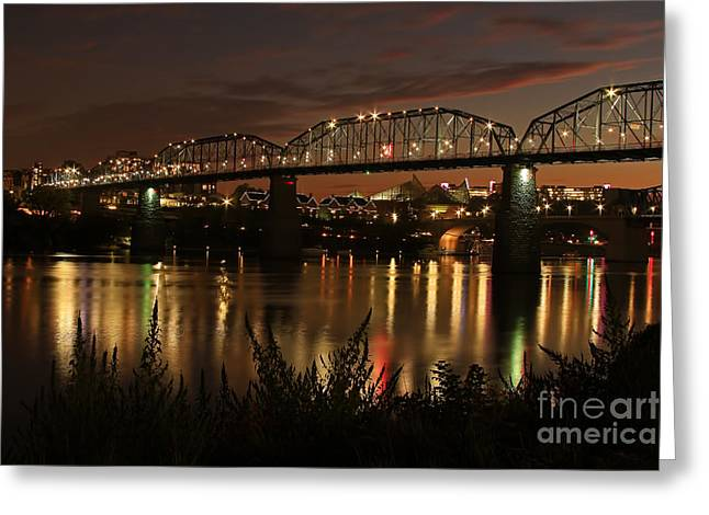 Purchase Greeting Cards - Golden River Greeting Card by Geraldine DeBoer