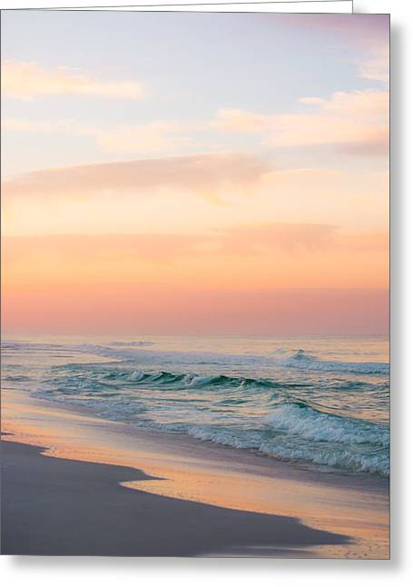 Bedroom Art Greeting Cards - Golden Sunrise Greeting Card by Shelby  Young