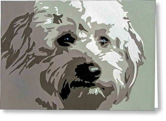 Goldendoodle Greeting Cards - Goldendoodle Greeting Card by Slade Roberts