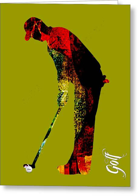 Golf Greeting Cards - Golf Collection Greeting Card by Marvin Blaine