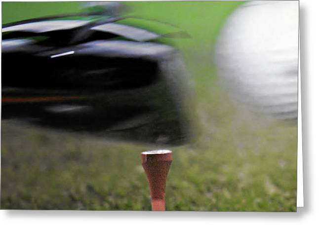 Golf Sport or Game Greeting Card by Christine Till