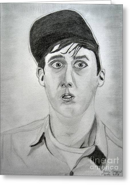 Andy Griffith Show Greeting Cards - Gomer Greeting Card by Dale  Ballenger