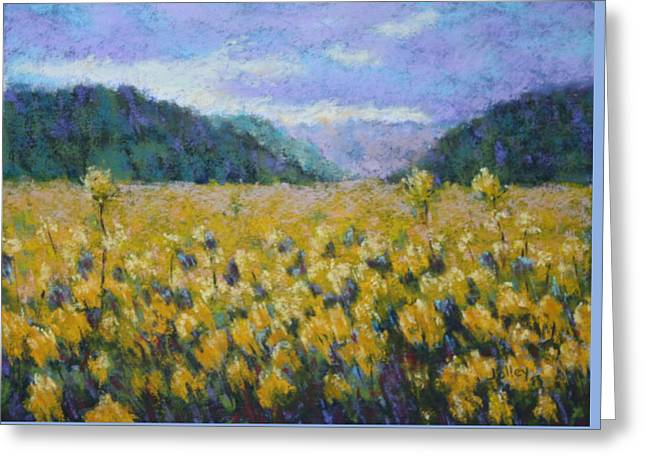 Oregon Pastels Greeting Cards - Gone to Seed Greeting Card by Nancy Jolley