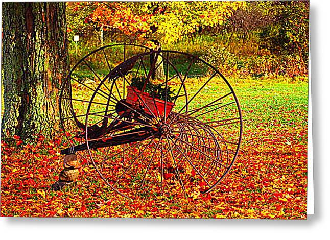 Gone with the Wind Greeting Card by Diane E Berry