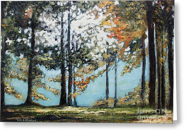 Tn Paintings Greeting Cards - Good Day Sunshine Greeting Card by Todd A Blanchard