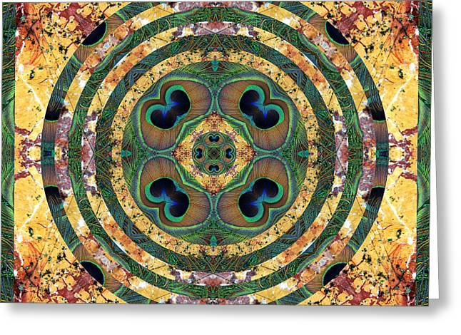 Chakra Rainbow Greeting Cards - Good Fortune Greeting Card by Bell And Todd