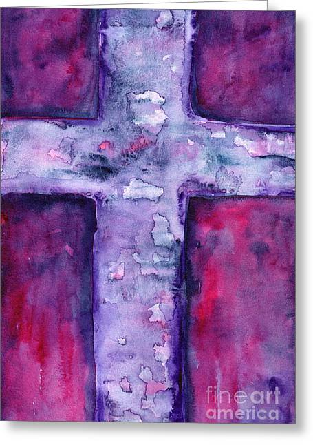 Good News Greeting Cards - Good Friday Greeting Card by Ruth Borges