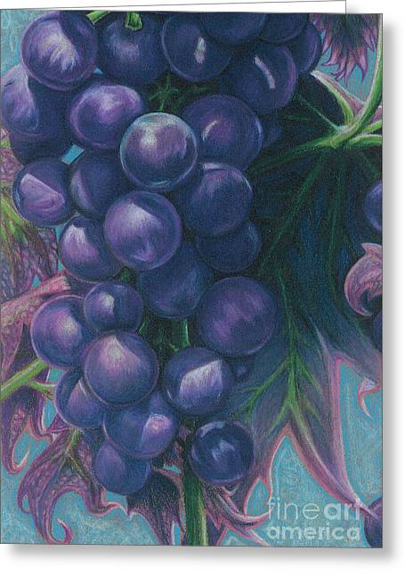 Jeff Drawings Drawings Greeting Cards - Good Fruit Greeting Card by Jeff  Blevins