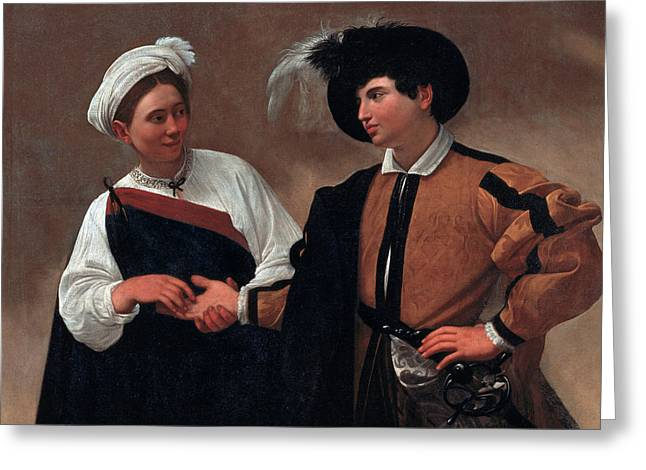 Good Luck Greeting Card by Caravaggio