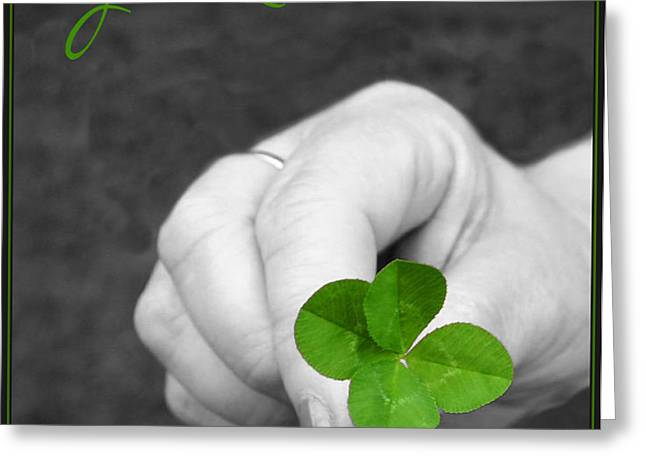 Good Luck Greeting Card by Kristin Elmquist
