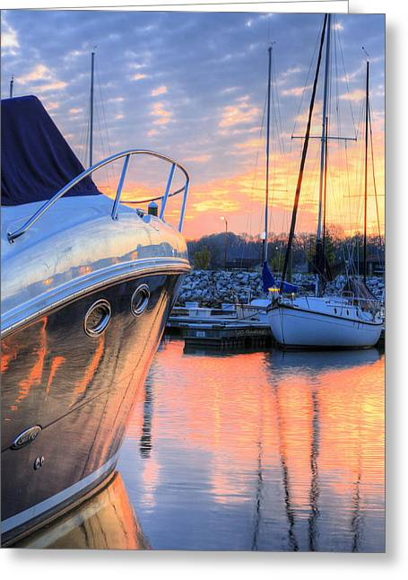 Alexandria Greeting Cards - Good Morning Greeting Card by JC Findley