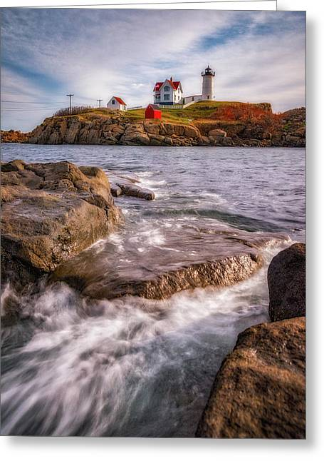 Good Morning Nubble Greeting Card by Darren White