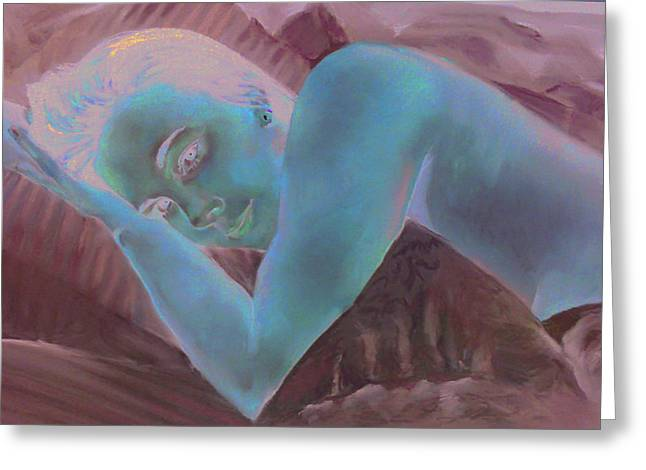 Figural Pastels Greeting Cards - Good Morning Greeting Card by Paul Autodore