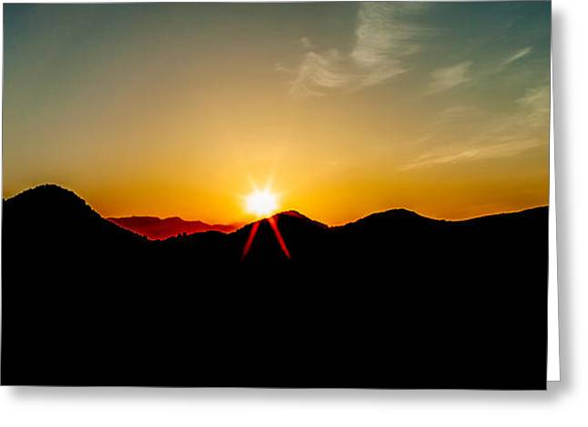 Highway Greeting Cards - Good Morning Sunshine Greeting Card by Az Jackson