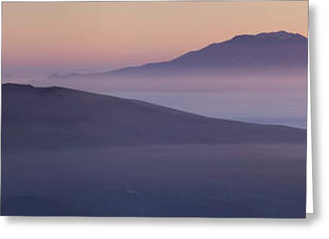 Volcano Greeting Cards - Good Night, Iturup Greeting Card by Alexey Kharitonov
