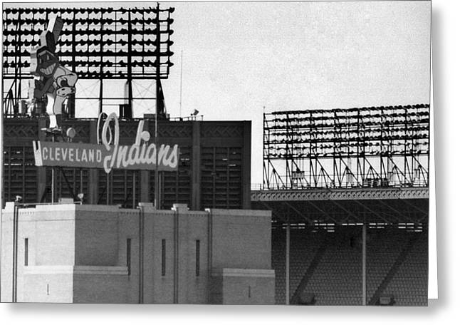 Baseball Stadiums Greeting Cards - Good Times Bad Times Greeting Card by Kenneth Krolikowski